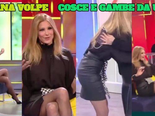 Adriana Volpe GONNA E GAMBE DA URLO 5 2 2021